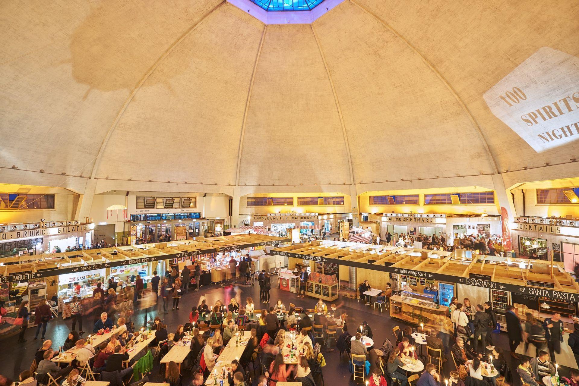 Marktstände Markthalle Basel