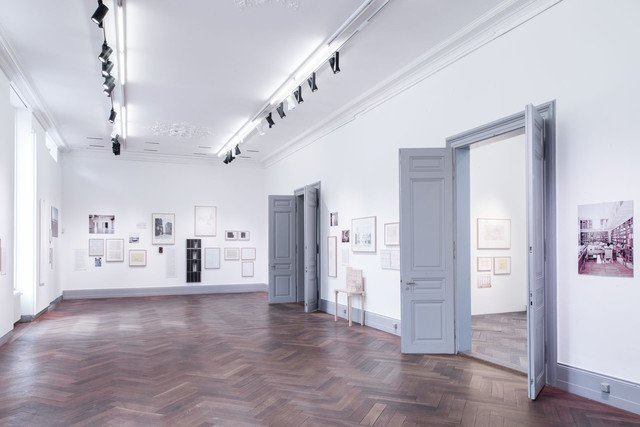Galerie des S AM Schweizerischen Architekturmuseums.