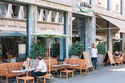 Das vegetarische Restaurant Tibits.