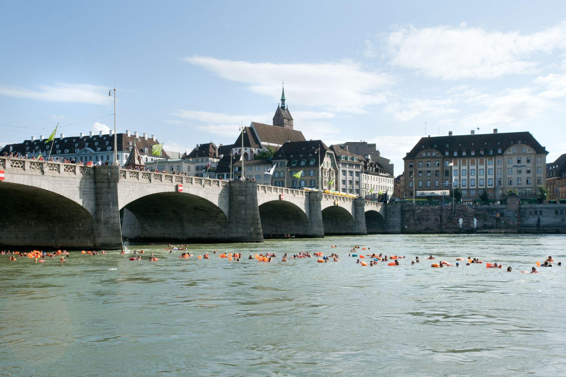 Rheinschwimmen Basel_1