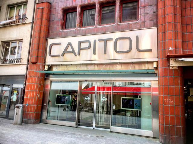 Das Kino Capitol in der Steinenvorstadt Basel.