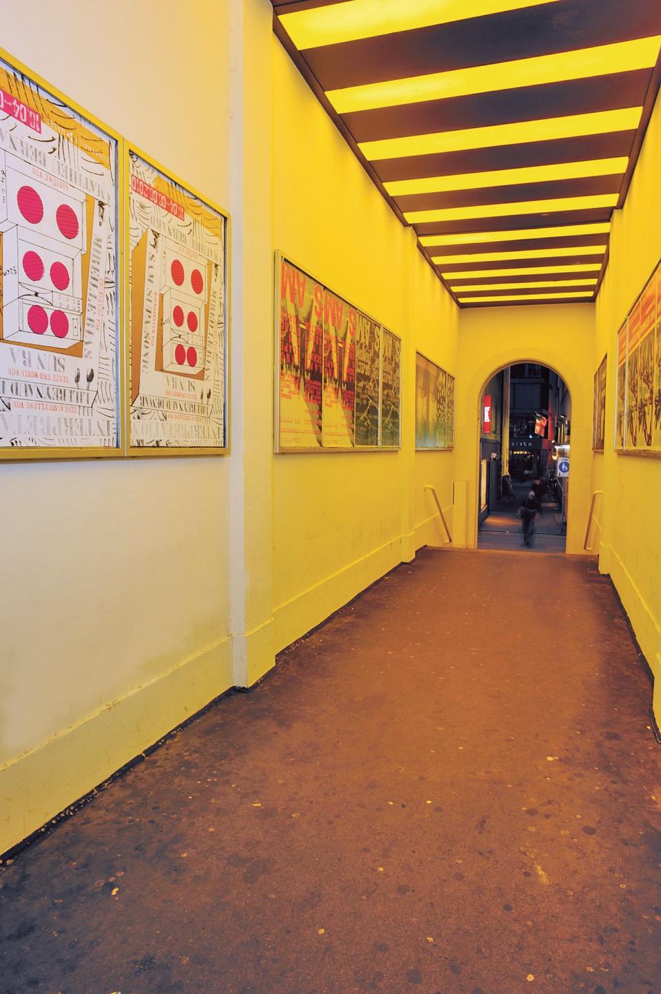 Die Passage Theatergässlein in Basel.