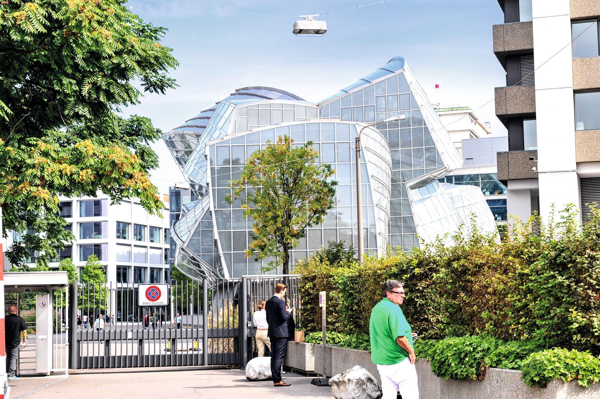 Gehry Gebäude Novartis Campus Basel