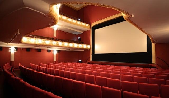 Das Kino Pathé Küchlin in der Steinenvorstadt.