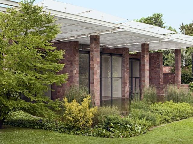 Fondation Beyeler, erbaut von Renzo Piano.