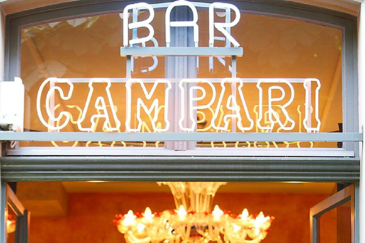 Wie in den wilden 1920er-Jahren fühlt ihr euch in der Campari Bar, die regelmässig zu den besten Bars der Schweiz gekürt wird.