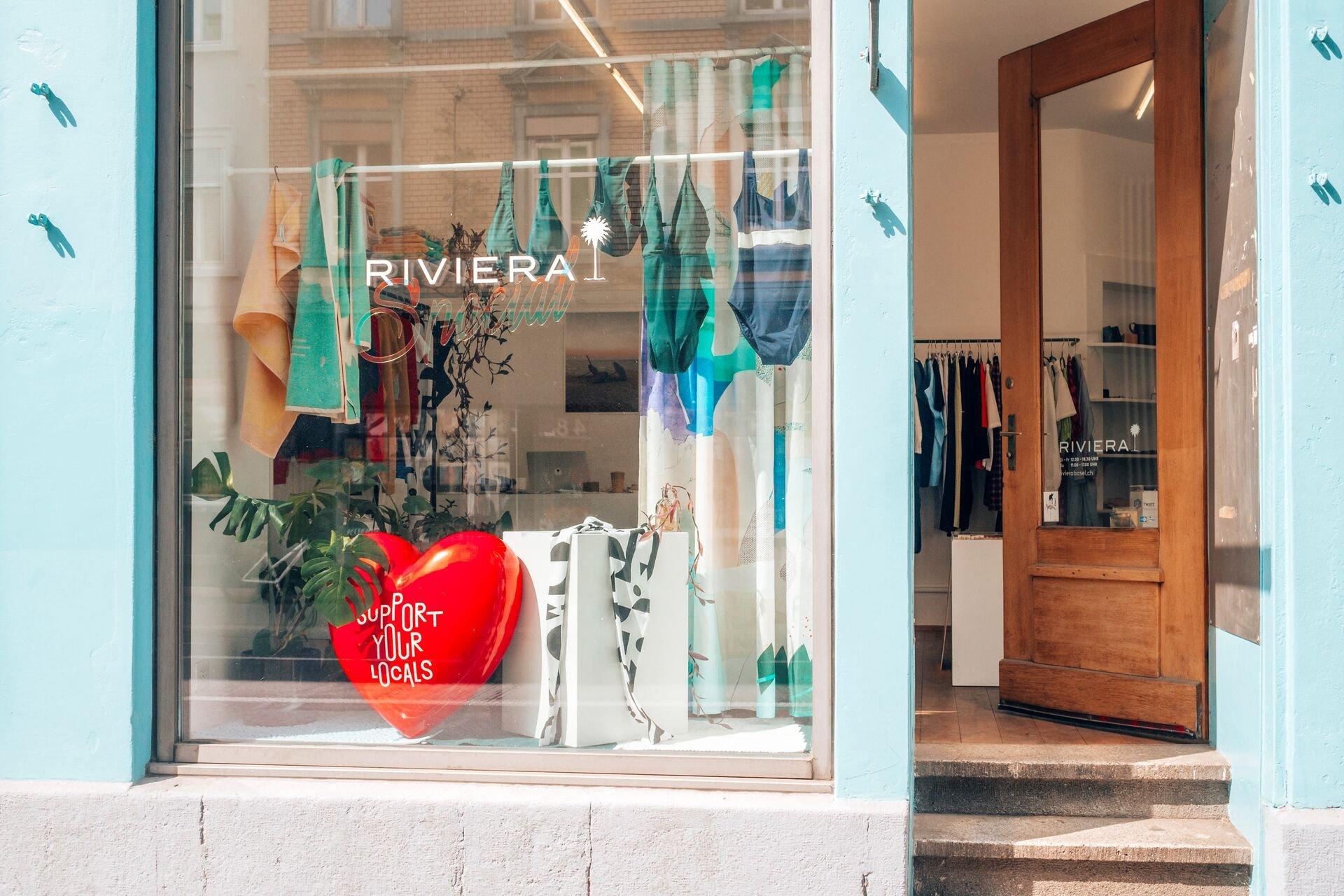 Garantiert fernab vom Mainstream: Das Riviera ist nur eines von vielen Geschäften, die zusammen mit Cafés, Bars und Galerien das Reh4 im hippen Kleinbasel bilden.