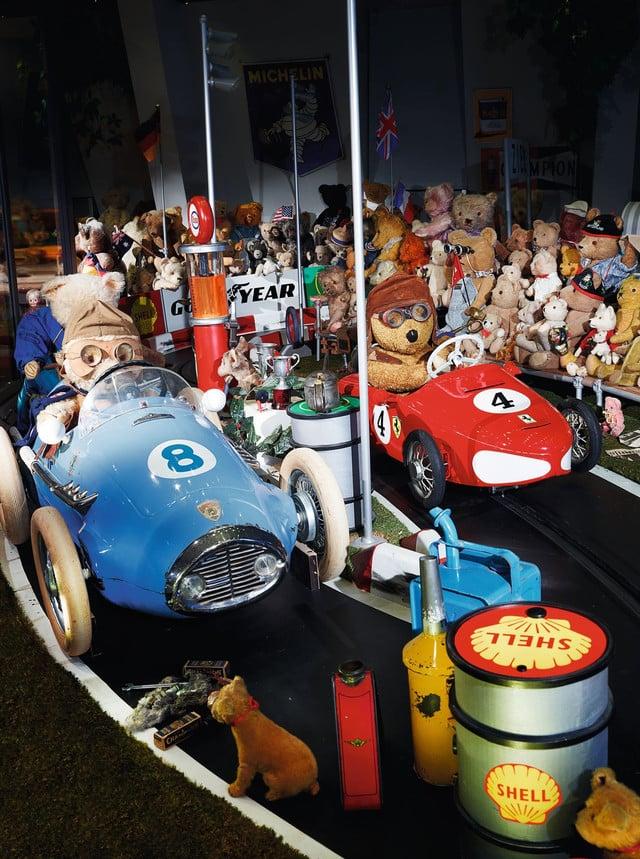 Dauerausstellung im Spielzeug Welten Museum Basel.