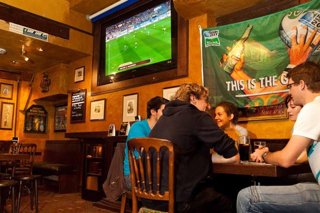 Der Mr. Pickwick Pub in der Steinenvorstadt.