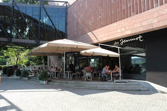 Bistro Restaurant Chez Jeannot Museum Tinguely Basel_3