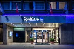 Das renovierte Hotel Radisson Blu in Basel.