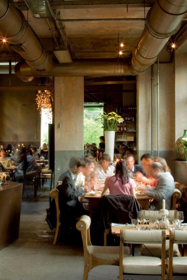 ACQUA - Osteria, Lounge, Bar, Caffè im Nachtigallenwäldeli in Basel.