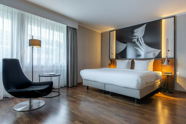 Das renovierte Hotel Radisson Blu.