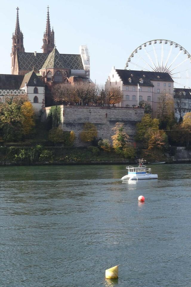 Die Stadtführung auf dem Solarboot.