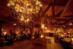 Das Restaurant Baracca Zermatt.