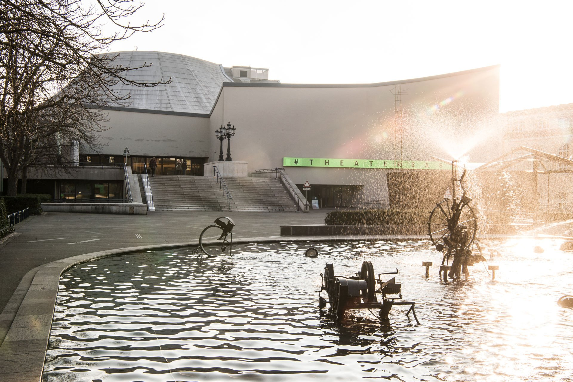 Tinguely-Brunnen Theater Basel
