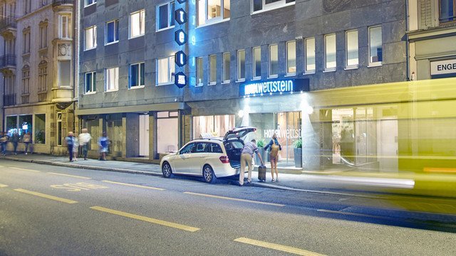 Das Hotel Wettstein liegt im Herzen von Basel inmitten eines schönen Wohnquartiers in unmittelbarer Nähe zum Rhein.