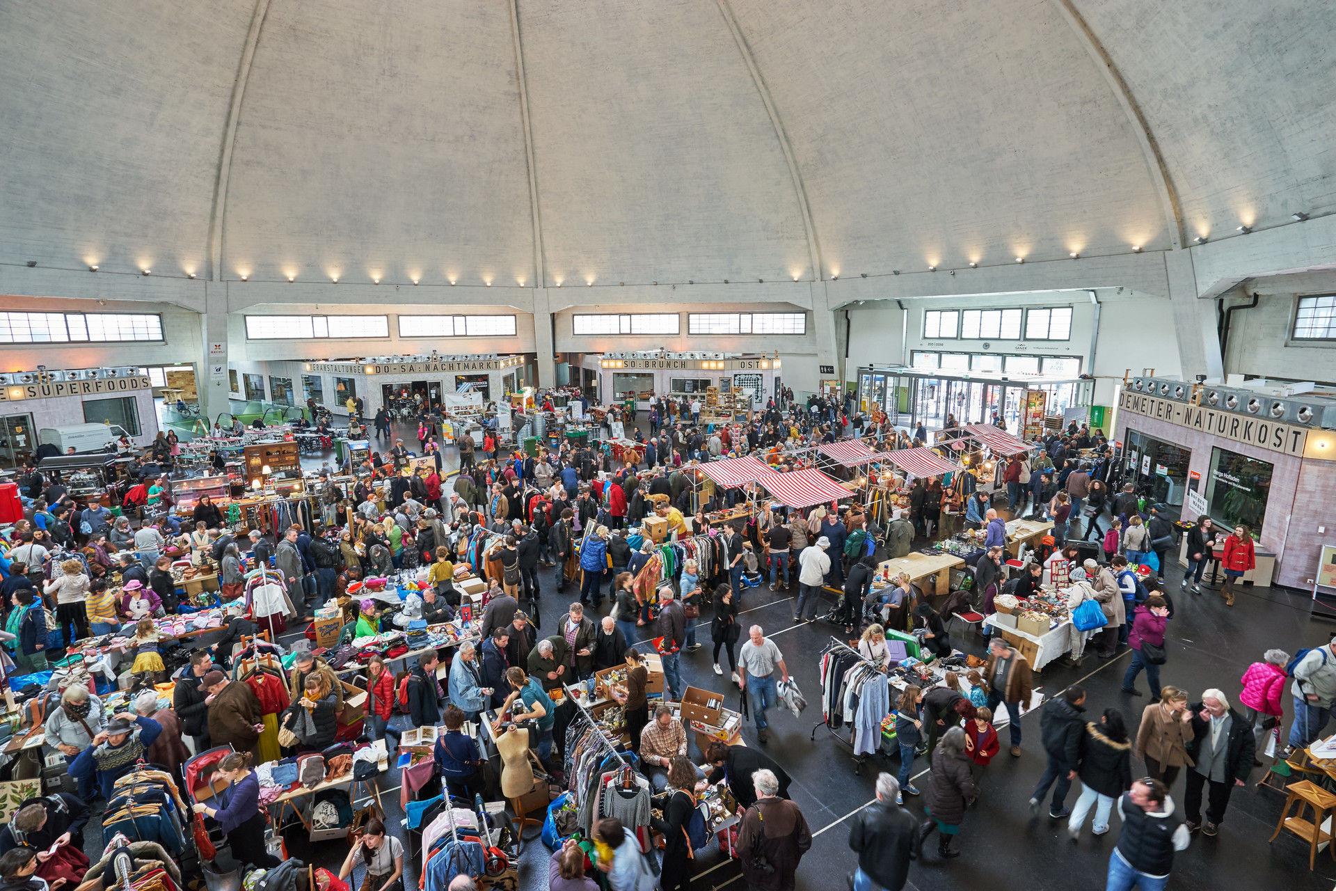 Flohmarkt Markthalle Basel