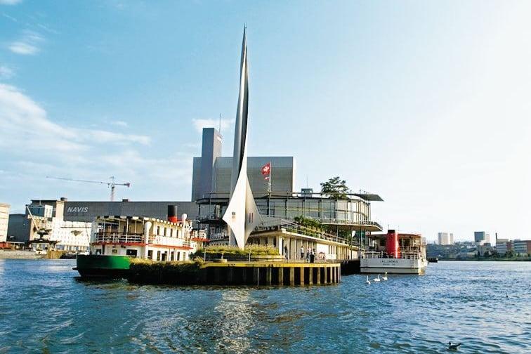 Dreiländereck Hafen Basel