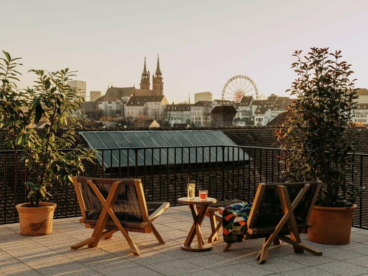Volkshaus-Basel-Room-Terrace-Suite-View-©Robert Rieger-0483